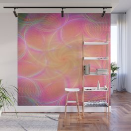 Pastel Abstract Wall Mural