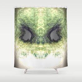ALIEN 1 - EMBOSS Shower Curtain