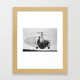 Gyrocopter Framed Art Print