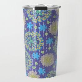 Kantha floral 4 Travel Mug