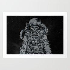 forgotten astronaut Art Print