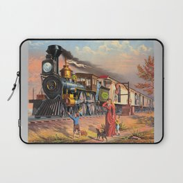 The Fast Mail,  1875 Laptop Sleeve