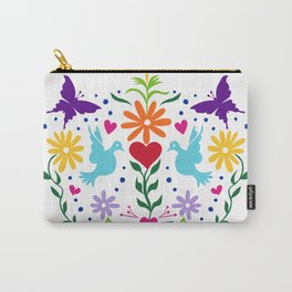 The Love Birds Carry-All Pouch