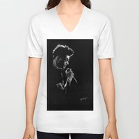 zayn V-neck T-shirts featuring TMH Zayn by Cyrilliart