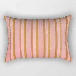 Stripes - Peach Rectangular Pillow