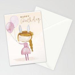 Happy Birthday Stationery Cards