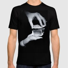 Magic Hands 2X-LARGE Black Mens Fitted Tee
