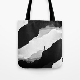 White Isolation Tote Bag