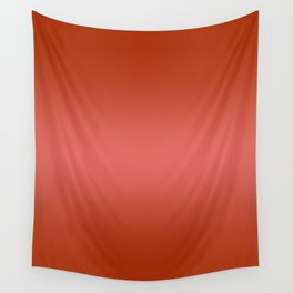 Red to Pastel Red Horizontal Bilinear Gradient Wall Tapestry