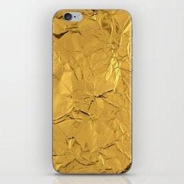 Roll'd Gold iPhone Skin