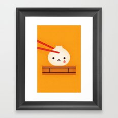 Dumpling Framed Art Print