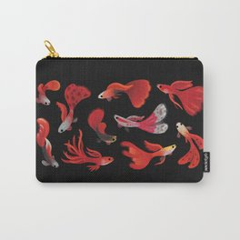 Red guppy Carry-All Pouch