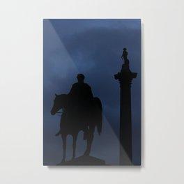 Trafalgar Square - London Metal Print