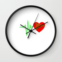 Funny Laser Tag Party T-Shirt Mode On I love laser tag Wall Clock