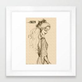 Sigyn Framed Art Print