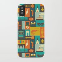 new orleans iPhone & iPod Cases featuring New Orleans by Ariel Wilson