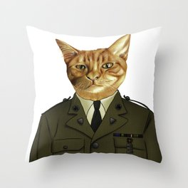 Paws of Fortune Throw Pillow