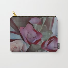 Still Roses Carry-All Pouch