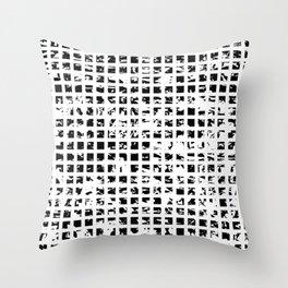 Controlled Randomness Throw Pillow