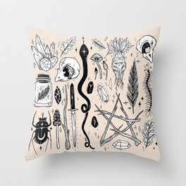 AUTUMN EQUINOX Throw Pillow