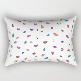 Bouncing Beans Rectangular Pillow
