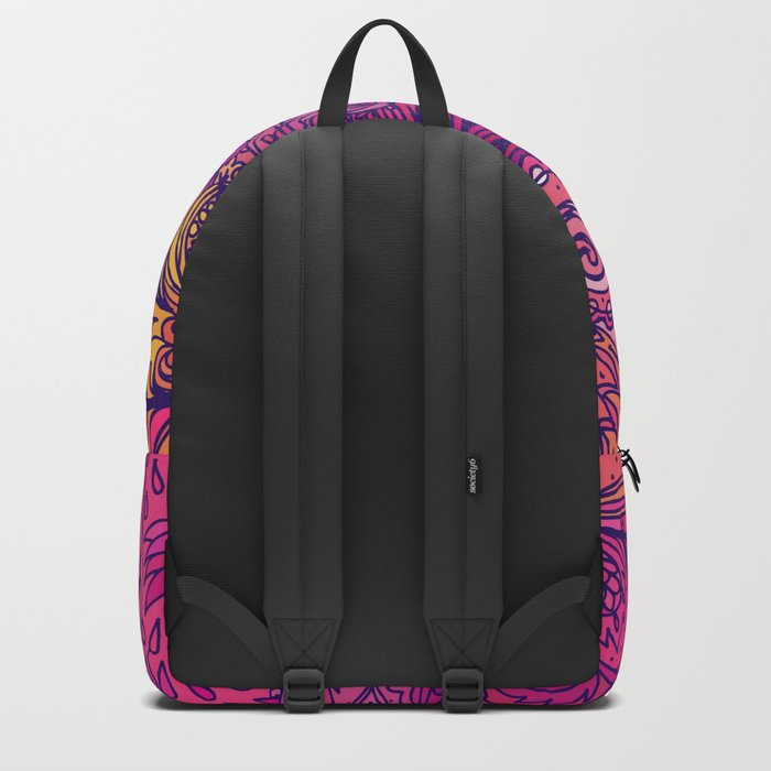 Indian Pattern 07 Backpack