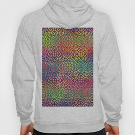 DP050-1 Colorful Moroccan pattern Hoody