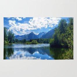Mountains - Leavenworth, WA Rug