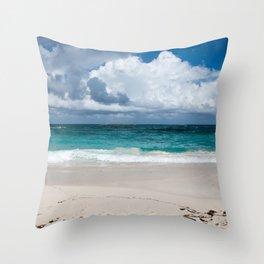 Caribbean Sand Throw Pillow