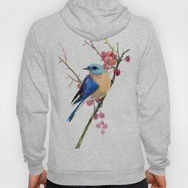 Bluebird and Berries Hoody