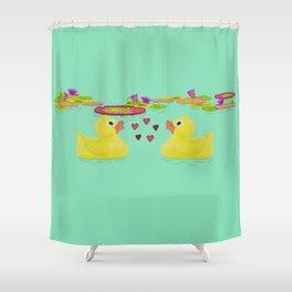 Duckies Shower Curtain
