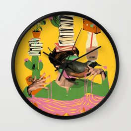 SURREAL KNOWLEDGE Wall Clock