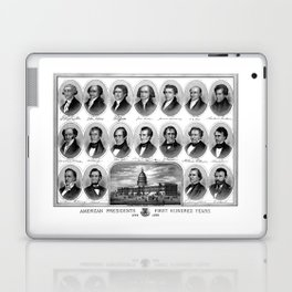 American Presidents - First Hundred Years Laptop & iPad Skin
