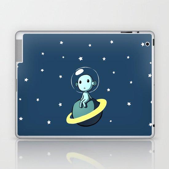 Space Alien Laptop & iPad Skin