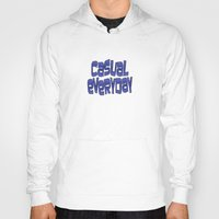 grafitti Hoodies featuring casual everyday by dedmanshootn