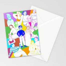 Live inclusively Stationery Cards