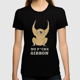 No F*cks Gibbon T-shirt