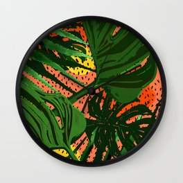 Jungle Dreamer Wall Clock