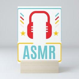 ASMR product I Autonomous Sensory Meridian Gift Mini Art Print