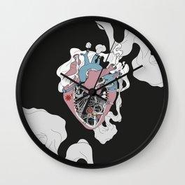 Mechanic Heart Wall Clock