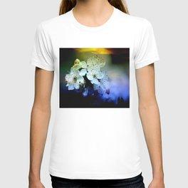 Cherry Blossoms By Annie Zeno  T-shirt