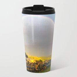 B&K Rainbow Travel Mug