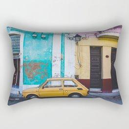 pastels in Cuba Rectangular Pillow