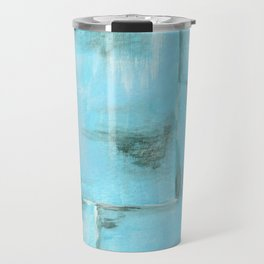 Frost, Abstract Art Painting Travel Mug