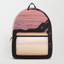 Mountain sunrise - A dreamy landscape Backpack