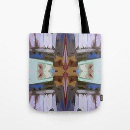 Kaleid Print Tote Bag