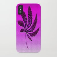hot pink iPhone & iPod Cases featuring HOT Pink by Cherie DeBevoise