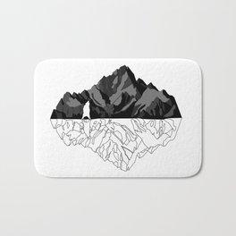 Mountains Bear Bath Mat
