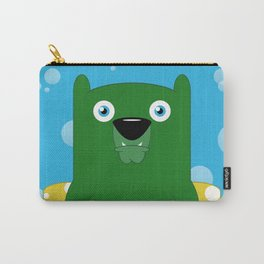 Swimming Bear Carry-All Pouch