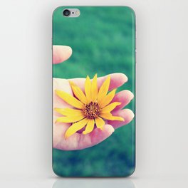 delicate. iPhone Skin